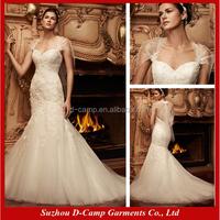 WD-674 Tulle and lace fishtail wedding dress patterns punjab wedding bridal dresses in karachi
