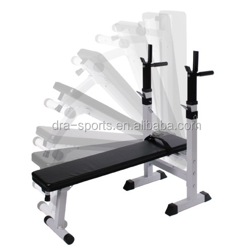 Fold Up Weight Bench Heavy Duty Shoulder Folding Home Heavy Duty Multiuse Barbell Flat Exercise