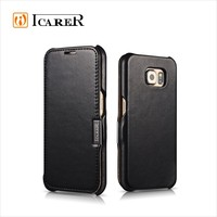 ICARER Luxury Leather Case For Galaxy S6