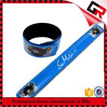Handmade custom silicone slap on bracelets