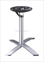 Arc dining coffee metal folding alloy aluminum table x-base table leg furniture leg HS-A118