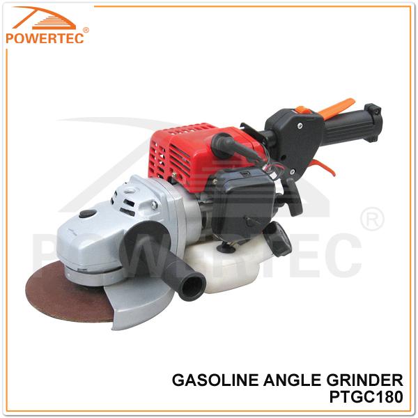 POWERTEC 26cc 0.65kw gasoline angle grinder