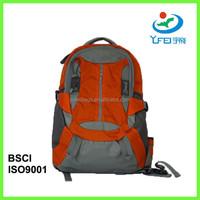 YF-BP007 Top Selling Cheap Custom Teens Nylon Camping Backpack