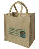 China handmade eco-friendly promotional jute bag