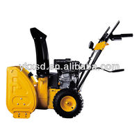 Electric two stage snow blower/snow thrower