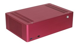 Aluminium Alloy Computer Cases Horizontal Type Desktop Application Mini ITX Computer Cases