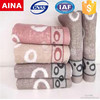 china high quality Pakistan Jacquard weave white hand towel supplier