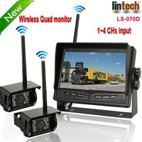 New! 7 inch digital wireless vehicle rearview system sealant (LS-070D)