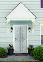 double shed steel doors with lock wrought iron door glass fashion design