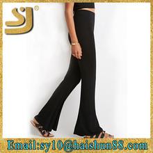 Wholesale autumn stretch casual ladies tight pants,slim stretch leggings, cotton knit pant sets pants