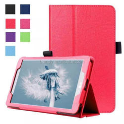 New Lychee PU leather Case with Stand for LG G PAD 2 8.0 V498 8 inch Tablet pc
