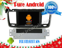 FOR PEUGEOT 508 Android 4.2 car dvd gps radio player RDS,Telephone book,AUX IN,GPS,WIFI,3G,Built-in wifi dongle