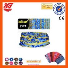 2015 Popular Multifunctional bu ff sports man elastic and comfortable bandanas
