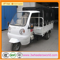2015 New Model China Wholesale 175cc Cargo Tricycle With Cabin And Box Cover, Motorcycle Tricycle For Cargo
