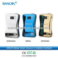Smok hot selling e cigarette box mods the new design vv vw groove II mod