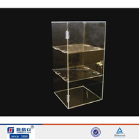 2015 Luxury display cheap clear acrylic digital products cabinet