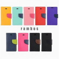 Note 5 Mercury Fancy Diary Leather Wallet TPU Flip Cover Case for Samsung Galaxy Note 5