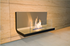 Fashion true fire wall mounted ethanol fireplace safer than gas fireplace