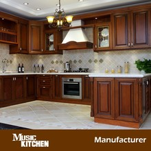 Best kitchen cabinets solid wood from china factory