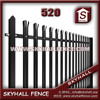 2015 Good Quality Steel Railway decorative metal fence panels
