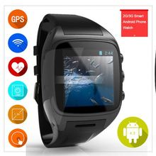2014 latest wrist watch mobile phone / Camera hand watch mobile phone price / cheap watch phone 3g android watch phone