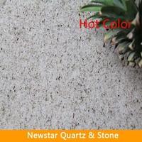 Newstar beige flat quartz stones