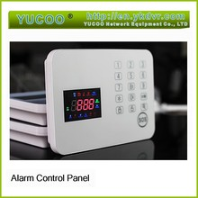 Wireless Home Alarm System 120 zones control host keypad touch