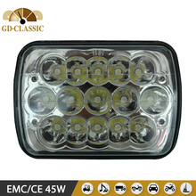 """Led truck light 45W made from CLASSIC factory 7"""" x 6"""" 7x6 led work light"""