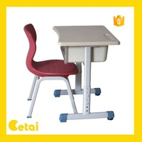 KT-320+208 Wenzhou Ketai ABS and PE wholesale primary kids study desk with chair for primary school chair and desk