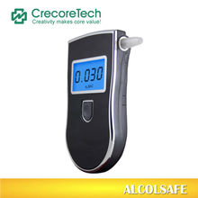 Wine Alcohol Tester/ breathalyzer with blue-colored backlight and mouthpieces