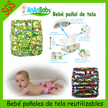 Ananbaby bebé pañal de tela reutilizable impermeable
