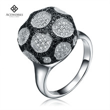 Cheap jewelry fashion diamond jewellery silver 925 stackable rings