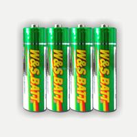 Mercury Free Carbon Zinc Battery 1.5V R6P AA UM-3 (W&S BATT Brand or OEM)