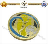 Factory direct gold hard enamel coin