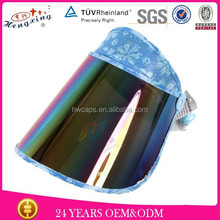 Wholesale wide brim cheap sun visor cap