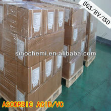 natural vitamin C food grade ascorbic acid in coated