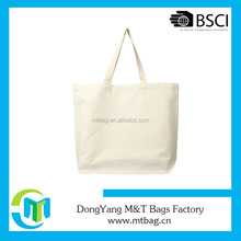 White Custom Printed Organic Cotton Canvas Wholesale Tote Bags