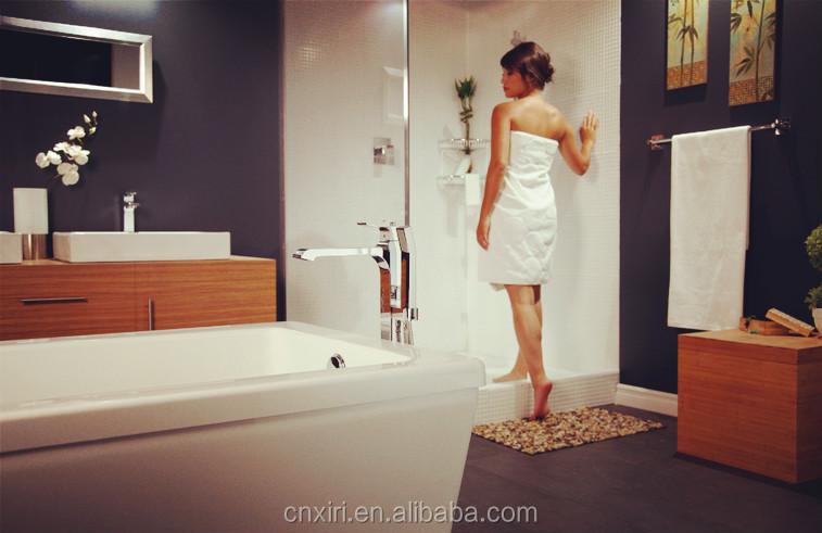 고급 구운 흰색 페인트 욕실 수건 선반 accessiories 조각 더블 수건 ...