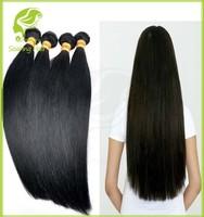 100% malaysian straight virgin hair Wholesale 10-30inches 100g/pc 5A Malaysian Straight Virgin Hair Natural Color #1B