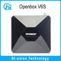 best iptv set top box fta receiver in korea openbox v6s f4 satellite receiver