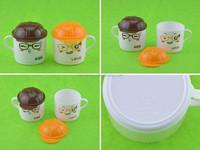 hot sale cap shape factory bottom price fashion plastic kid cup