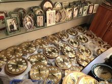 Vintage decorative clock antique Metal wall clock for wedding decoration