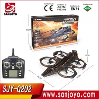 WLtoys Aircraft carrier Q202 6 Axis 2.4G 4CH RC Quadcopter with 3-mode Flight