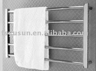 Wall hung towel warmer ladder towel rail electric clothes for Porte serviette mural ikea