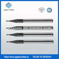 cutting tools end mills drills taps;2-flute flattened end mills with straight shank and tiny diameter