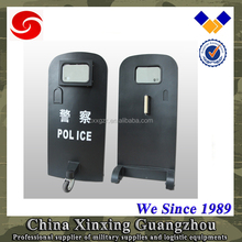 PC Anti riot shield bullet proof riot shield sale with wheels