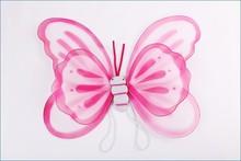 Tela alas del ángel de hadas de Nylon alas de mariposa vestidos disfraces