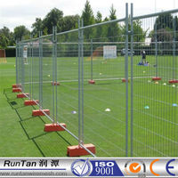 factory hot dipped galvanized outdoor playground fence temporary fence