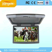 2013 hot selling 15inch TFT LCD car monitor