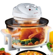 Family Size Halogen Oven Plus Extras Secura Turbo Oven Countertop Convection Cooking Toaster Oven